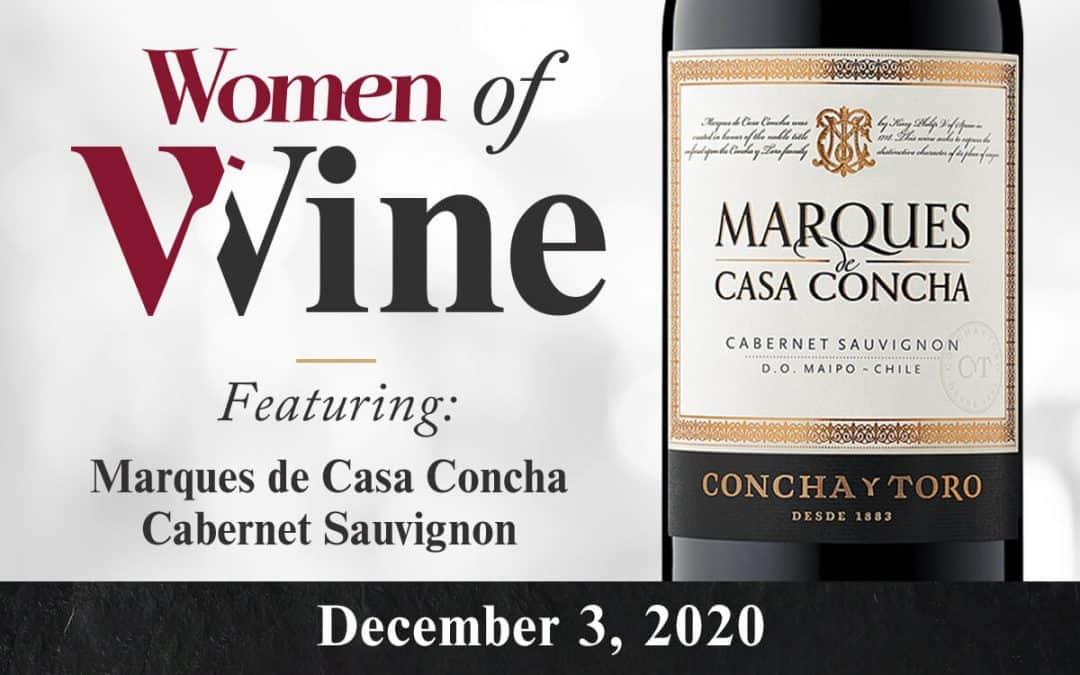 December 3 Women of Wine ft. Marques de Casa Concha